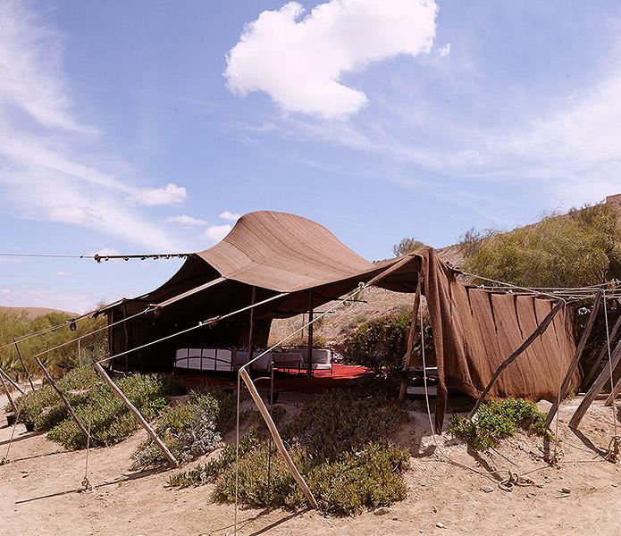 A chacun sa tente nomade