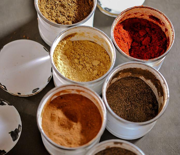L'art des épices, la richesse de la cuisine marocaine...