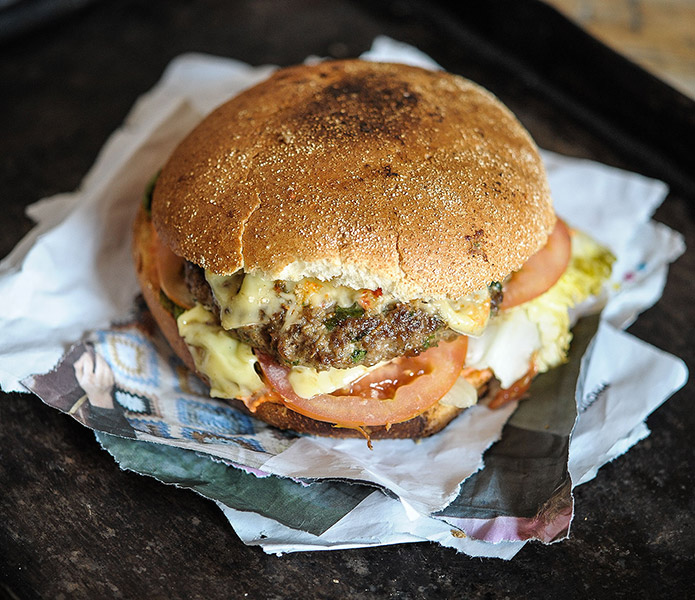Le burger de Nicolas