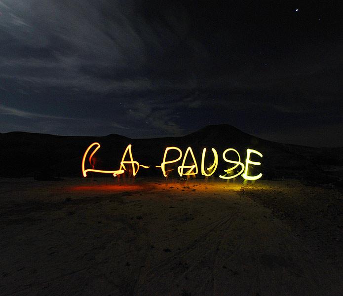 Bivouac autour de La Pause