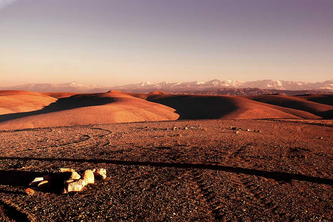 Marrakesh Desert Landscape holiday - La Pause, Morocco